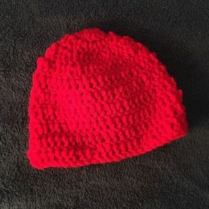 Other - Hand crocheted 3-6month baby hat
